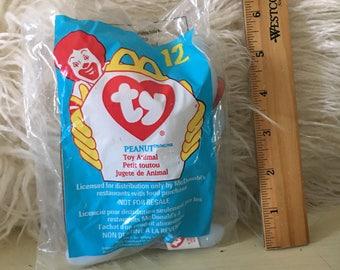 TY McDonald's Beanie Baby Plush Toy Vintage Unopened Stuffed Plush