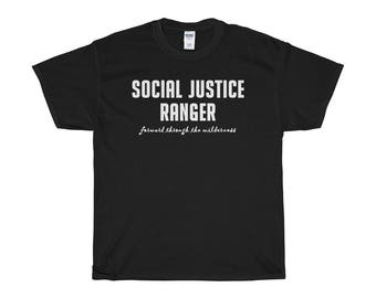 Social Justice Ranger Unisex ShortSleeve TShirt Dungeons And Dragons Dnd Sjw Rpgs Roleplaying Games