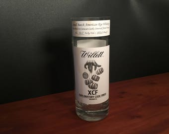 Willett Candle Family Estate XCF  Rye Whiskey BOTTLE Soy Candle. Made To Order !!!!!!!