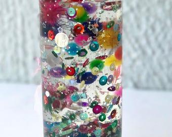 Colors and Shapes Sensory Bottle/ Calming Bottle