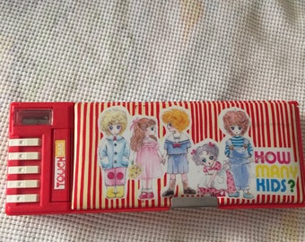 Flomo pencil case with all the bells and whistles! Vintage Japan stock