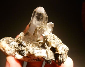 Quartz with Muscovite from Pakistan