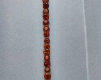 Spessartite Orange Garnet 1pc 4.5mm