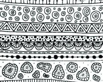 Silk screen stencil No. 58