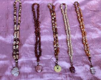 Magic Drago Necklace XL 111 Seeds, mantranecklace, meditation