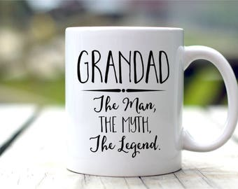 Grandad Mug, Gift For Grandad, Coffee Mug