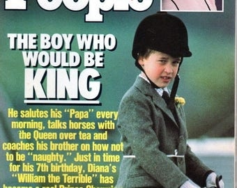 Summer Sale People Magazine June 26, 1989 The Boy Who Would be King