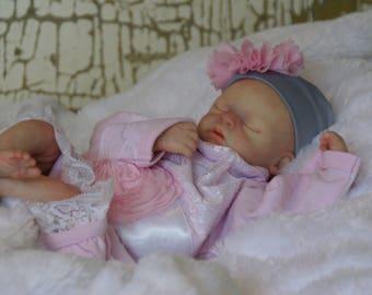 Reborn Preemie Baby Girl Doll