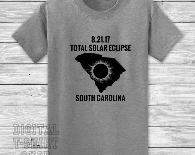 8.21.17 Total Solar Eclipse South Carolina T-shirt