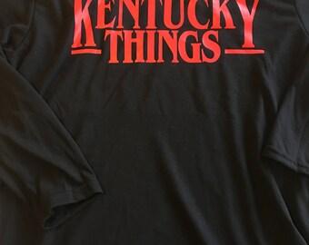 Stranger Things t-shirt, Kentucky Things t-shirt,Stranger things tee, Kentucky things tee