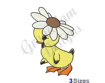 Daisy Duck - Machine Embroidery Design