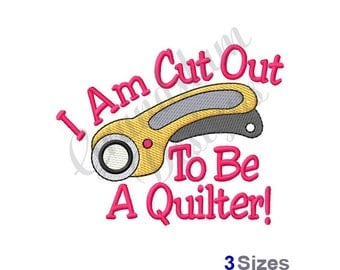 Rotary Cutter  - Machine Embroidery Design