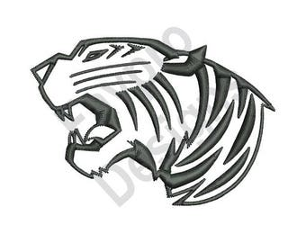 Saber Tooth Tiger Skull Tattoo 86358 Loadtve