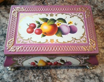 Vintage Tin Candy Dish by Friday and Nada