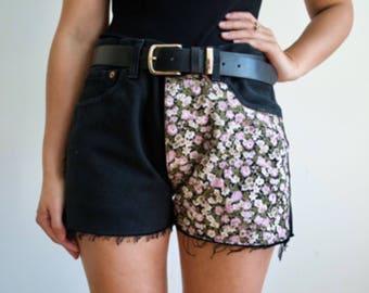 Vintage Reworked Levi Denim Shorts