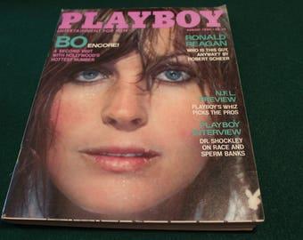 Playboy Magazine August 1980