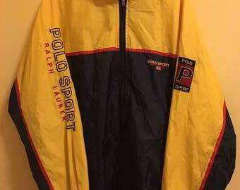 SALE 15% Vintage 90s Polo Sport Ralph Lauren Jacket Size L