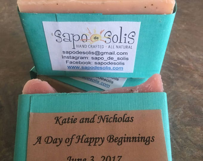 Unscented custom cut soaps