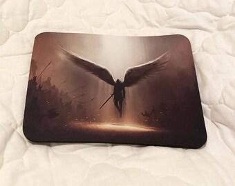 Fantasy Angel Warrior Printed  Mouse Mat