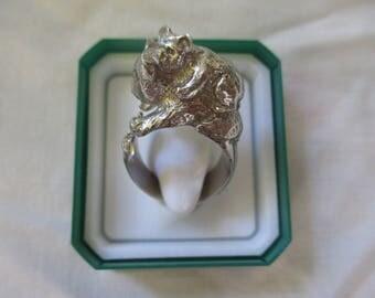 anello koala argento 925 - sterling silver 925 ring koala