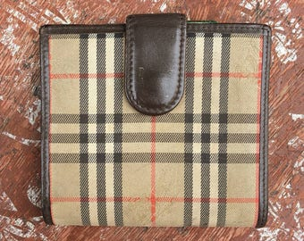Vintage Burberry Wallet