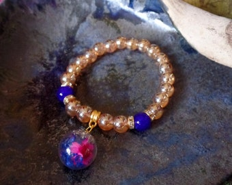 Bracelet Golden Spring Delight