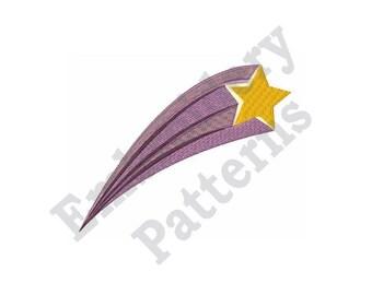 Meteor Shower - Machine Embroidery Design
