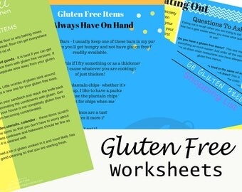 Gluten Free Printable Bundle