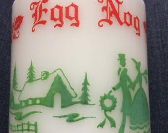 Vintage egg nog mugs- set of 2