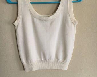 Cream/white vintage shirt