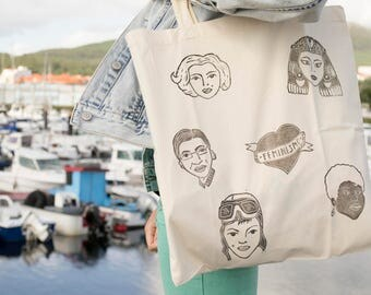 Tote bag | Shopping Bag | Wedding Bag | Cotton | Market | Feminismo