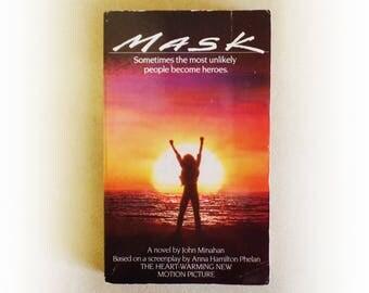 John Minahan - Mask - Rocky Dennis novelisation vintage paperback book - 1985