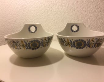 Turi design Grill serving bowls / the listing is for 2 bowls