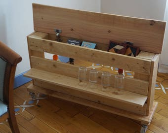 Design wooden mini bar