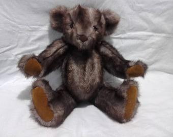 "16.5"" hand made, brown Teddy Bear"