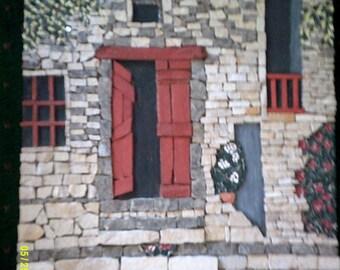 """door Hall""""in a village in France."""