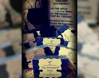 The Poisoned Poet  Handmade Soap 5oz.