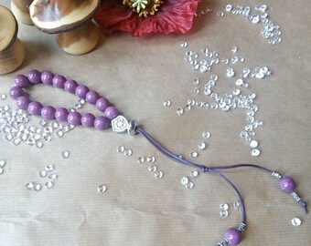 Lavender Greek Komboloi - Worry Beads