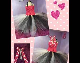 American Girl Doll| Tutu Dress and Bow