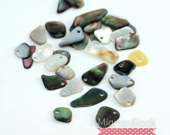 """Destash"" beads - sold by 21g Pearl"