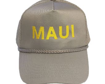 MAUI Embroidered Dad Hat