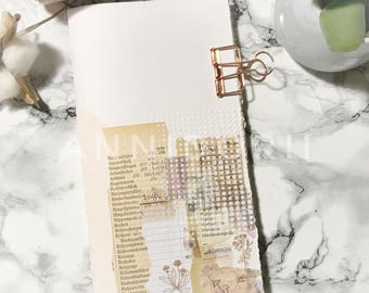 Junk Journal for Travelers Notebook Gr. Regular (11 x 21 cm)