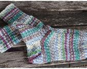 Handgestrickte Opal Socken Gr.36/37