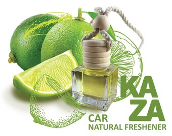 Natural car freshener - with natural essential oil
