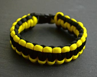 Survival Parachord Bracelet Yellow
