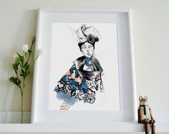 Marc Jacobs SS18 Fashion Illustration