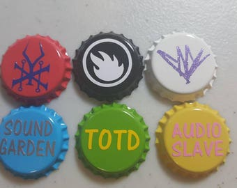 Chris Cornell bottle cap magnets