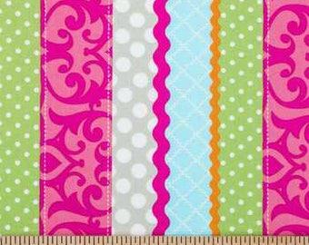 Multi-Color Stripe Apparel fabric