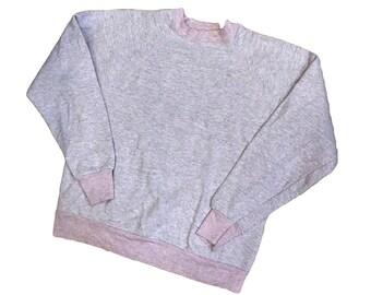 Vintage 90s style - Pink Sweater - Medium