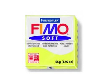 Polymer clay Fimo Soft 57 g - lemon no. - 10
